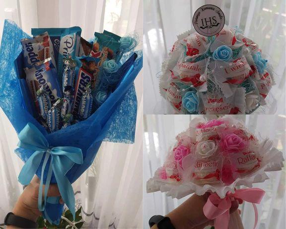 Słodki bukiet na każdą okazję, Komunia Święta, Dzień Matki