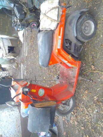 скутер хонда гуро трехколесный
