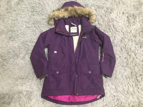 Didriksons kurtka zimowa ciepla dla dziewczynki 140