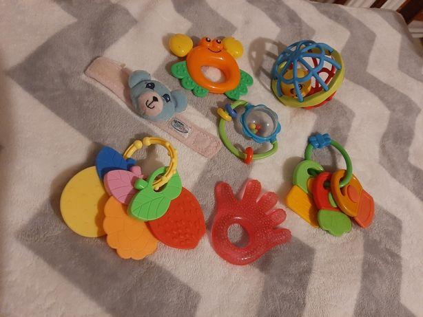 Грызунки, погремушки, игрушки, прорезыватели
