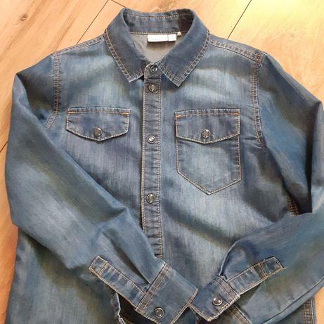 Koszula jeansowa r128