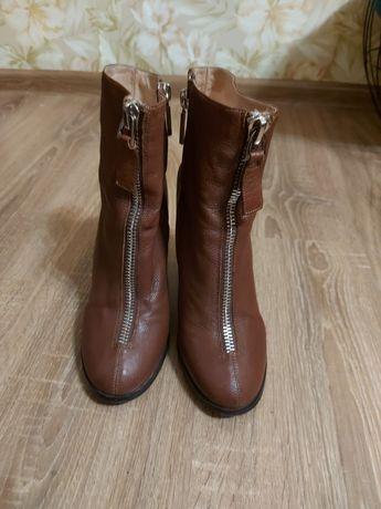 Ботинки кожаные, деми