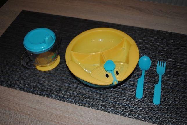 Zestaw obiadowy dla dziecka firmy Baby Ono