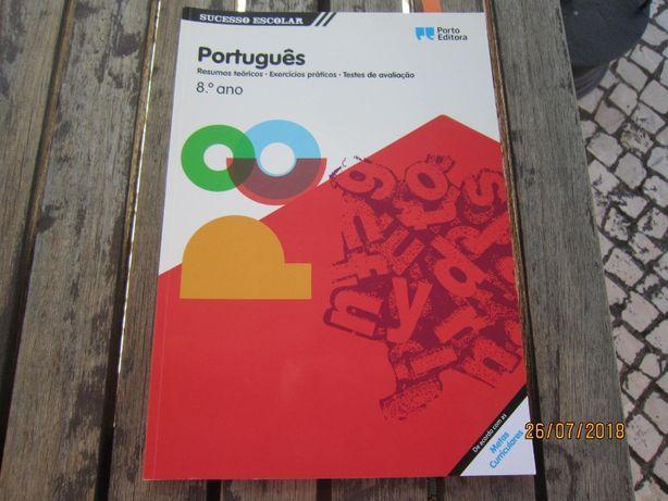 Português livro exercícios 8ºano