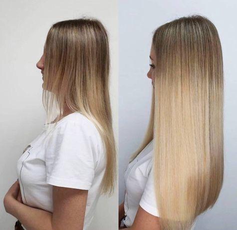 Наращивание волос!от 800 грн!Нано и микро капсулы. ВДНХ