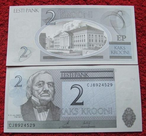 ESTONIA Kolekcjonerski Banknot - 1 sztuka UNC