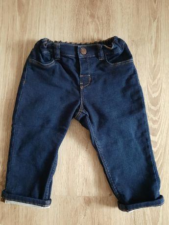 spodnie jeansowe H&M roz. 86