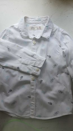 Рубашка сорочка zara 2-3  года роки 98см