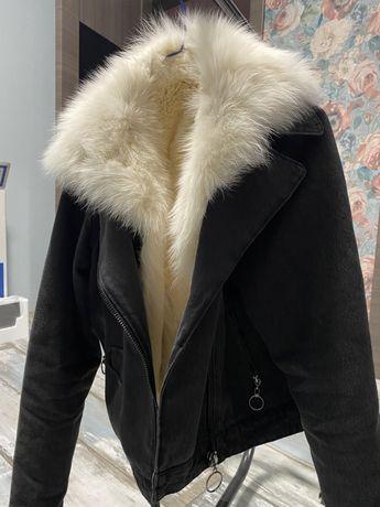 Куртка з натуральним підкладом