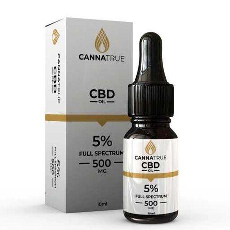 Olejek CBD Cannatrue (5%, 10%, 15%, 30%) Czytaj Opis (cennik)