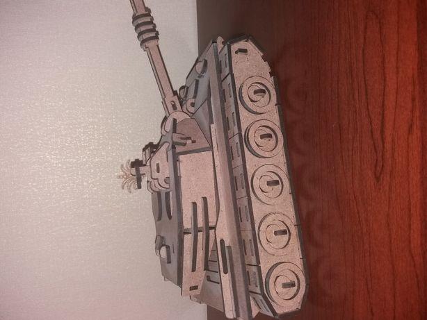 Деревяный танк конструктор
