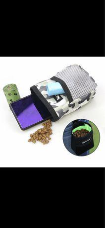 Bolsa snacks para treino de cães /cão cintura sacos comida
