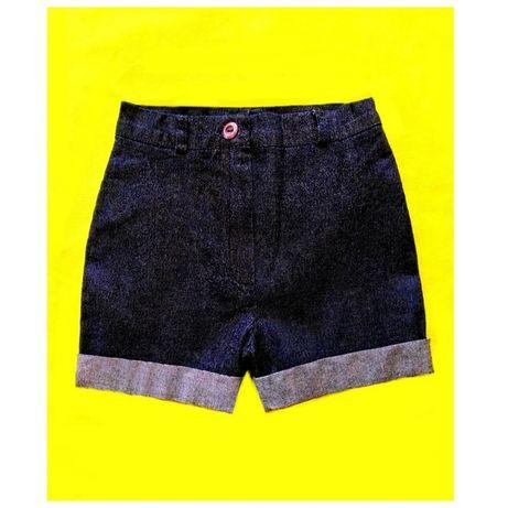 Джинсовые шорты H&M новые на девочку 2-3 года смотри замеры