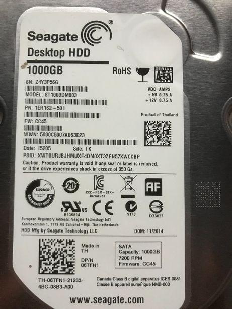 жесткий диск Seagate Desktop HDD 1000GB
