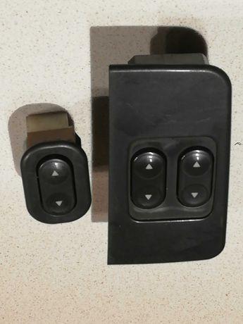 Botões comando vidros lado Condutor e pendura Fiat Punto mk1