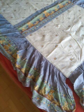 Edredon de cama de grades com ursinhos