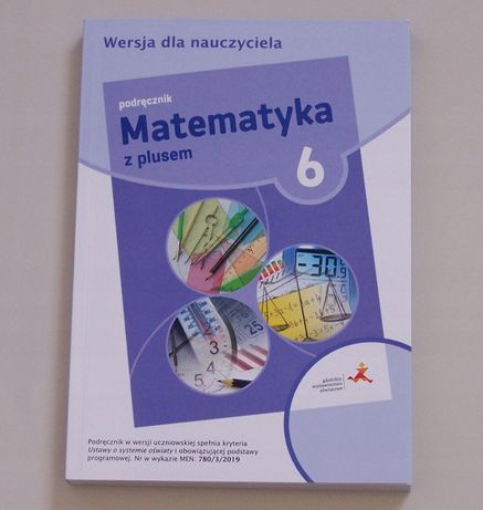 Matematyka z plusem kl 6 książka nauczyciela