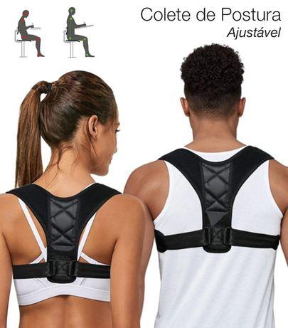 Corretor Colete para corrigir a postura da coluna, costas e ombros