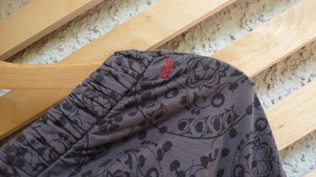 Szkienka długa bawełna bez ramiączek r 40 42 S.Oliver szara