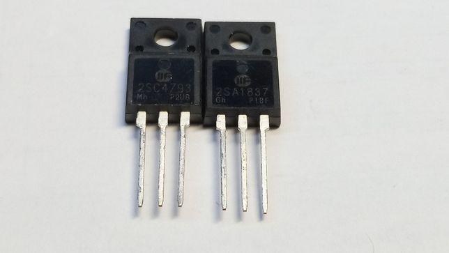 Біполярні транзистори Toshiba 2SA1837 2SC4793.