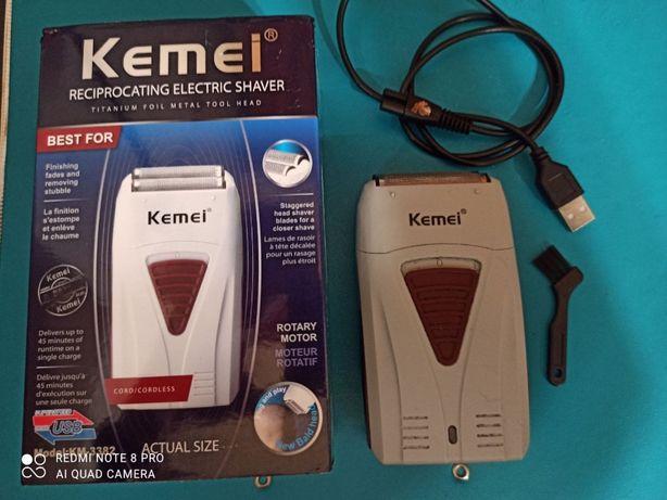 Электробритва «KEMEI SHAVER» КМ-3382, сеть/аккумулятор