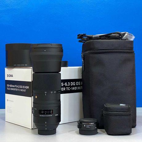 Sigma 150-600mm f/5-6.3 DG OS HSM + 1.4x Tele-Converter (Nikon) - NOVA