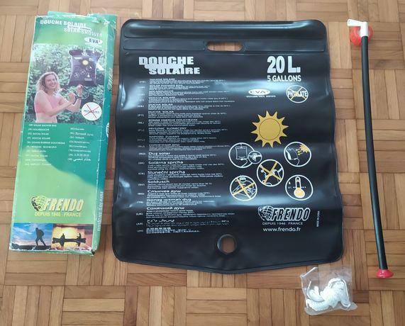 Duche Solar para Campismo de 20 Litros - Novo