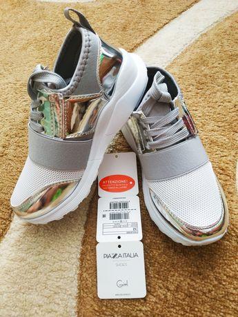 Летние итальянские кроссовки