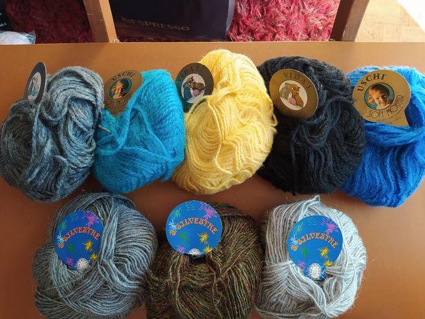 Novelos de lã baratos, preços de saldo