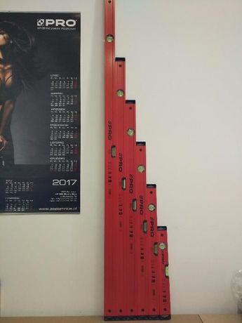 Komplet 6 poziomic PRO 600 Endurance zestaw 40-150cm 6 poziomnic