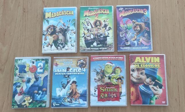 Filmes de Animação DVD