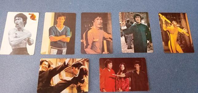 Colecção de calendários de bolso do Bruce Lee com 32 anos