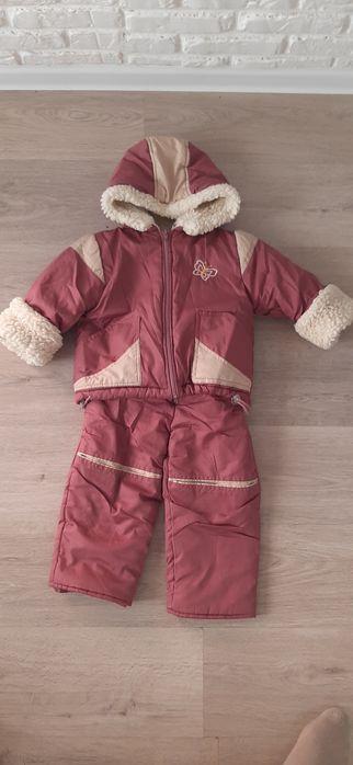 Зимний костюм комбинезон для девочки Днепр - изображение 1