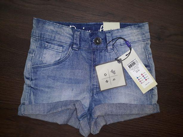 Новые с биркой джинсовые шорты на девочку,летняя одежда,джинсові шорти