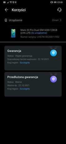 Huawei Mate 20 pro gwarancja idealny zamiana