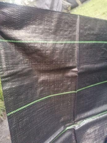 2x5 Folia na płot tkanina ściółkowa ogrodzenie siatka maskującą