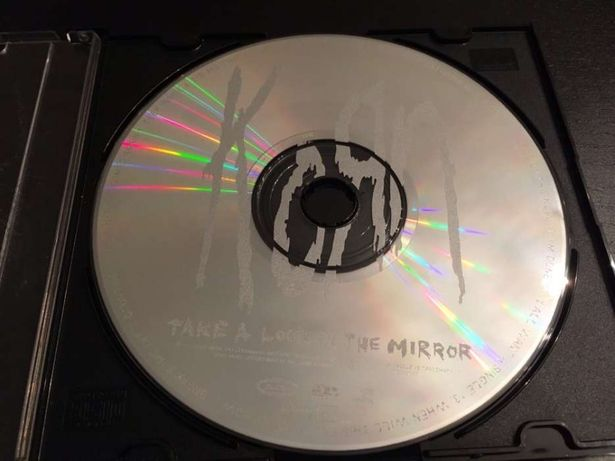 CD KORN Take a Look in The Mirror
