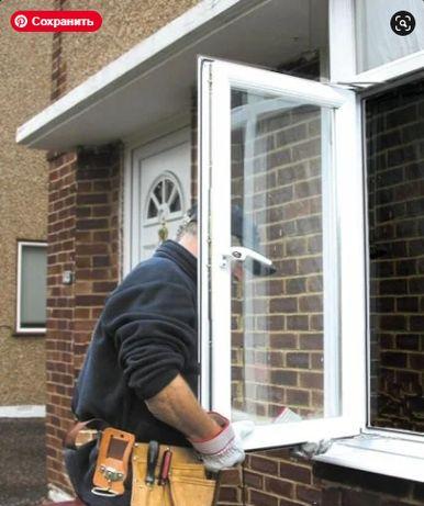 Установка металлопластиковых окон, дверей и балконов Демонтаж
