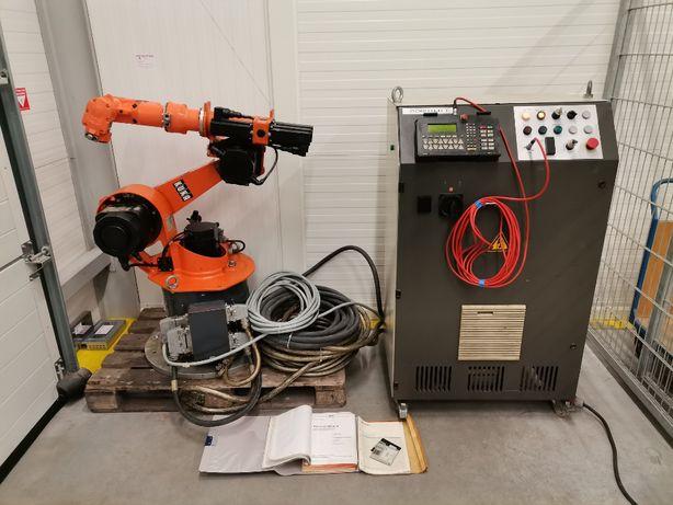 Robot przemysłowy KUKA IR364/15 szafa RC30/52 panel KRC32 okablowanie