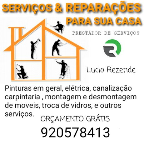Serviços de Reparações/Manutenção Doméstica em Geral