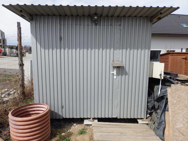Garaż blaszany metalowy