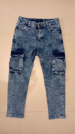 Spodnie chłopięce jeansowe Reserved rozm 134