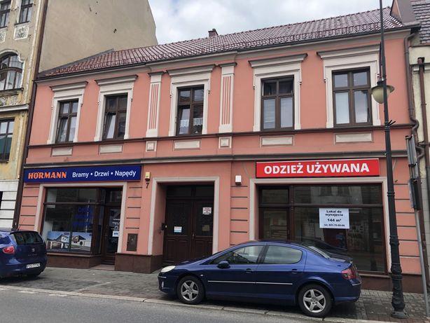 Lokal handlowy Kaliska Pleszew 144 mkw witryna