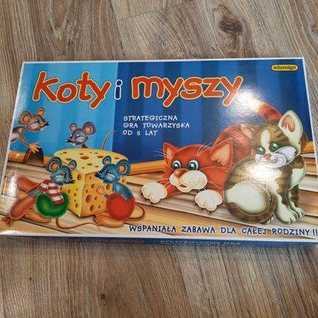 Gra Koty i Myszy