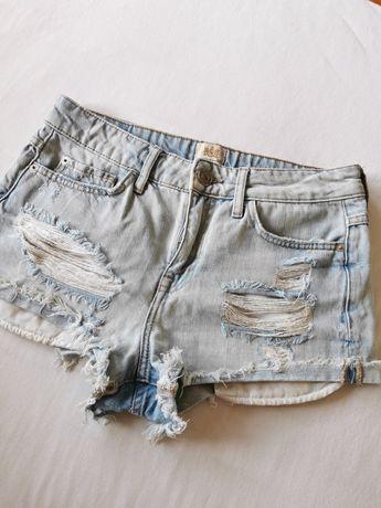 Szorty spodenki jeans 38