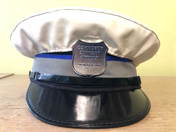 czapka policji angielskiej Metropolitan Police Londyn roz. 56