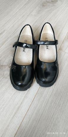 Туфли школьные для девочки 29 размер