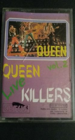 Queen – Live Killers Vol. 2, 1992, KASETA MAGNETOFONOWA,