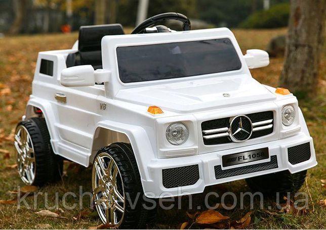 Джип Mercedes G80 M2788 EBLR, детский электромобиль, кожа, EVA, mp3