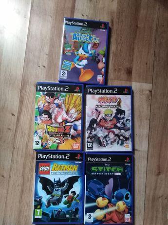 Gry PS2 Dragon Ball Naruto Batman